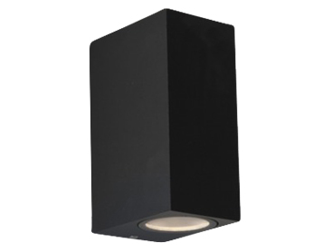 Astro Chios 150 Bathroom Double Wall Light, Textured Black Finish - 7128