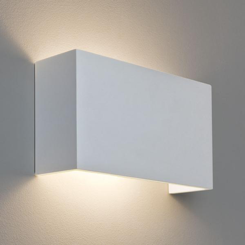 Astro u0027Pella 325u0027 IP20 Wall Light, White Finish - 7140