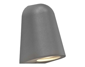 Astro Mast Light Outdoor Wall Light, Textured Painted Silver Finish - 7144