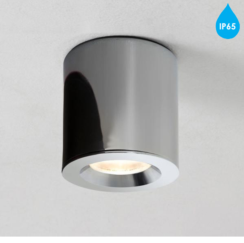 ip65 bathroom lights astro kos ip65 led bathroom downlight polished chrome 13275