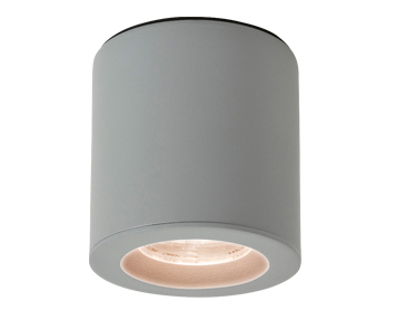 Astro Kos LED Bathroom Downlight, Textured Painted Silver Finish - 7177