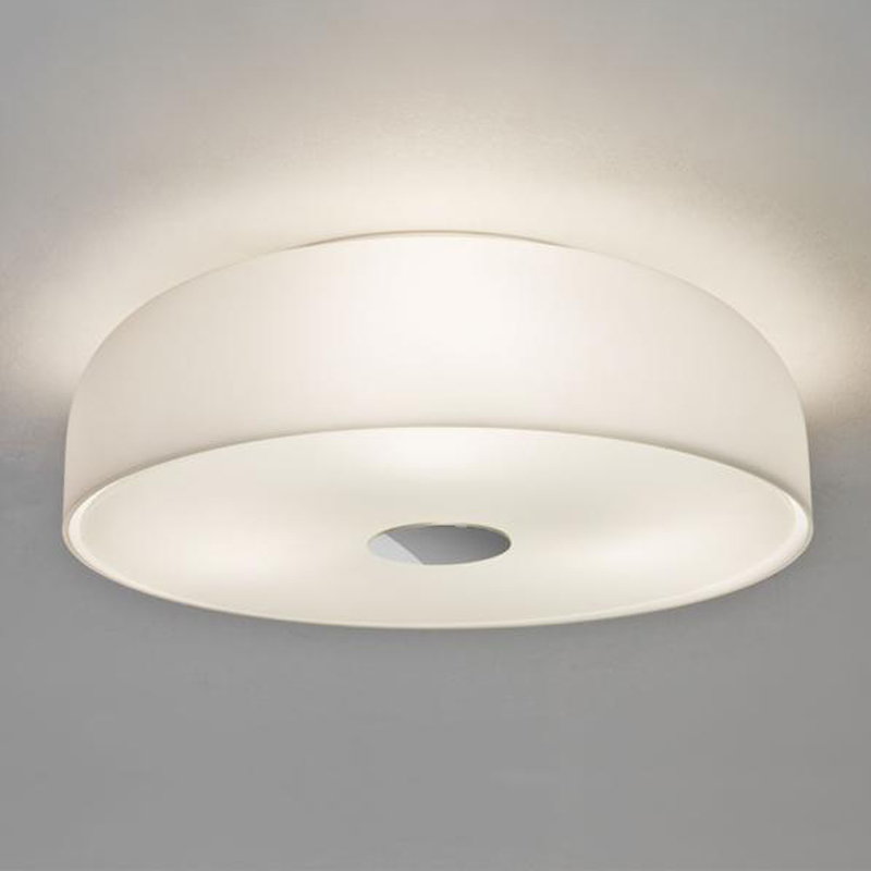 Astro syros ip44 3 light flush bathroom ceiling fixture opal glass 7189