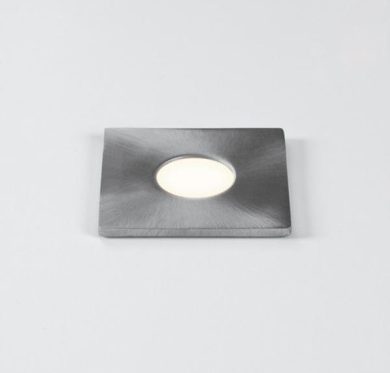 Astro Terra 28 Square IP65 LED Ground Light Stainless Steel