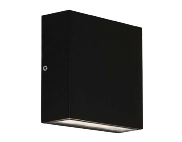 Astro Elis Single LED Outdoor Wall Light, Textured Black Finish - 7201