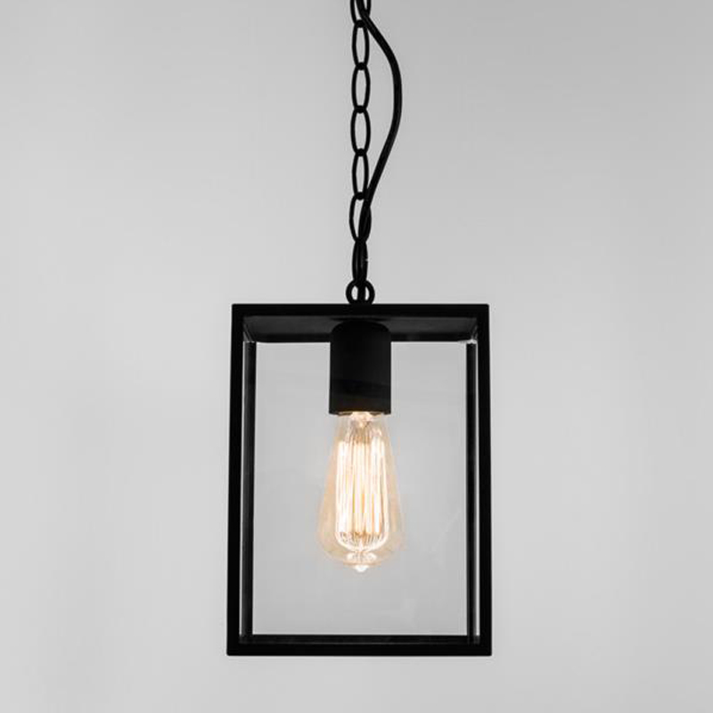 Lantern pendants from easy lighting astro homefield pendant ip23 exterior ceiling pendant black finish clear glass mozeypictures Choice Image
