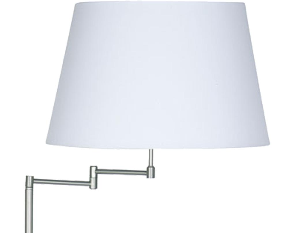 Swing arm floor lamps from easy lighting oaks lighting armada swing arm floor lamp base satin chrome 722 fl aloadofball Images