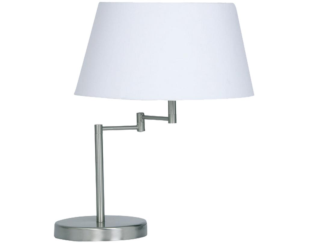 swing arm table lamps from easy lighting - oaks lighting 'armada' swing arm table lamp satin chrome   tl sc