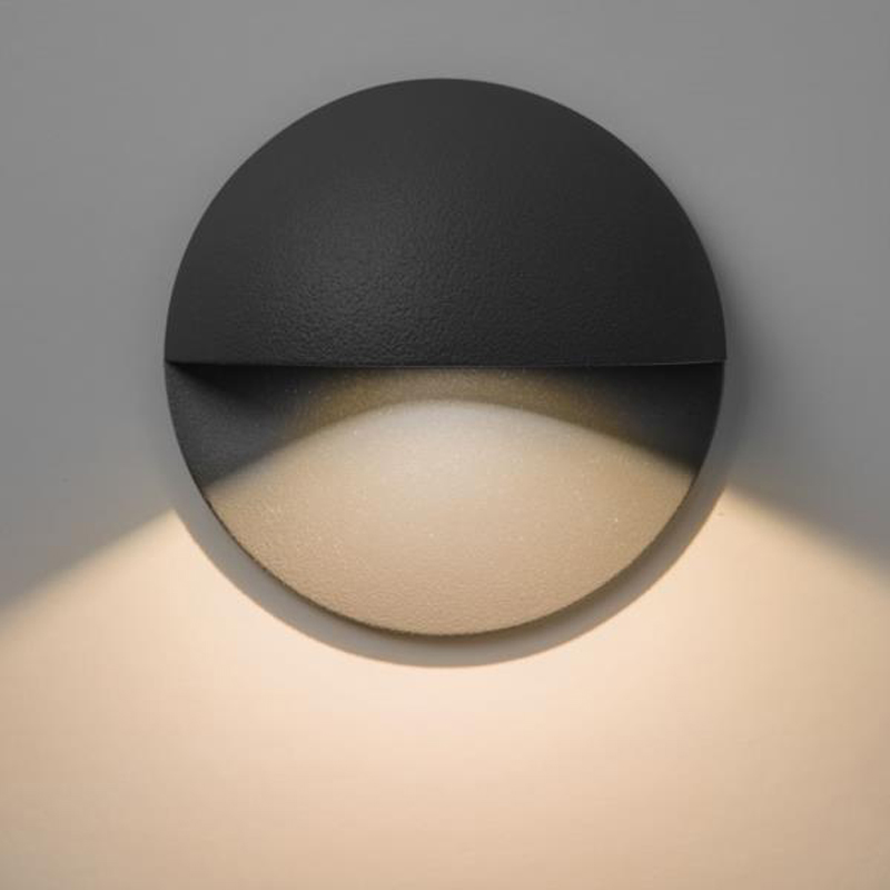 Led Wall Light Ip65: Astro 'Mast Light' IP65 Outdoor Wall Light, Painted Silver
