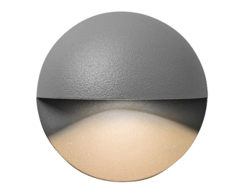 Astro Tivoli LED Outdoor Wall Light, Textured Painted Silver Finish  - 7265