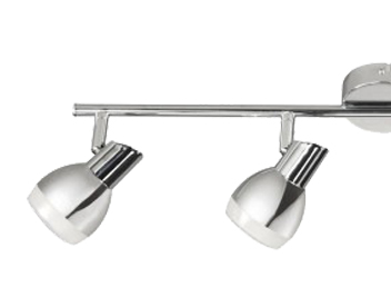 Action Nantes 4 Light LED Ceiling Bar Spotlight, Polished Chrome Finish - 726904010000