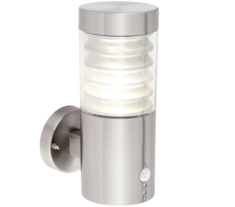 Outdoor Lighting Pir Endon equinox 1 light outdoor led pir wall light clear pc marine endon equinox 1 light outdoor led pir wall light clear pc marine grade brushed stainless steel finish 72916 workwithnaturefo