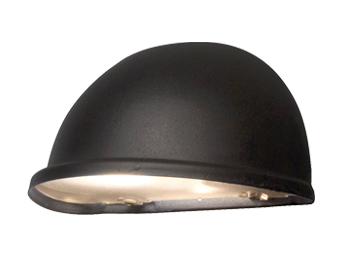 Konstsmide Torino 1 Light Outdoor Wall Light, Matt Black With Frosted Acrylic Glass - 7325-750