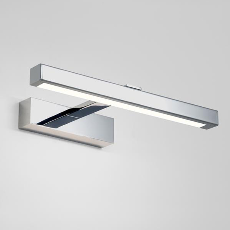 Astro Kashima 350 LED IP44 Bathroom Wall Light Polished Chrome