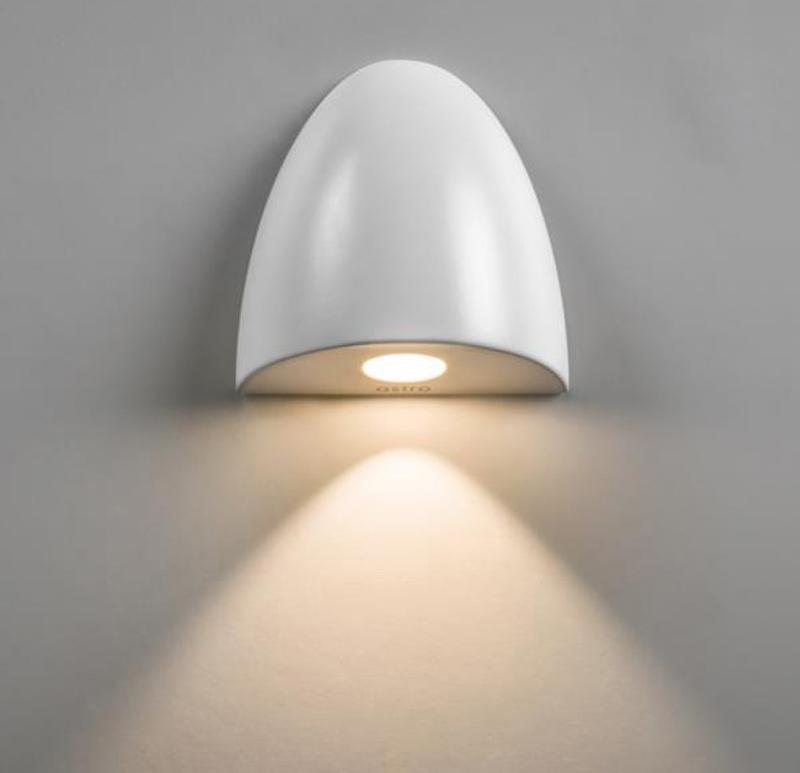 Bathroom Light Ip65 astro 'orpheus' ip65 led bathroom recessed wall light, white