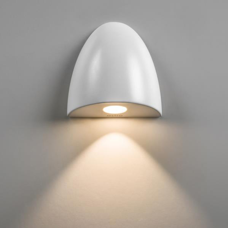 Astro Orpheus IP65 LED Bathroom Recessed Wall Light White