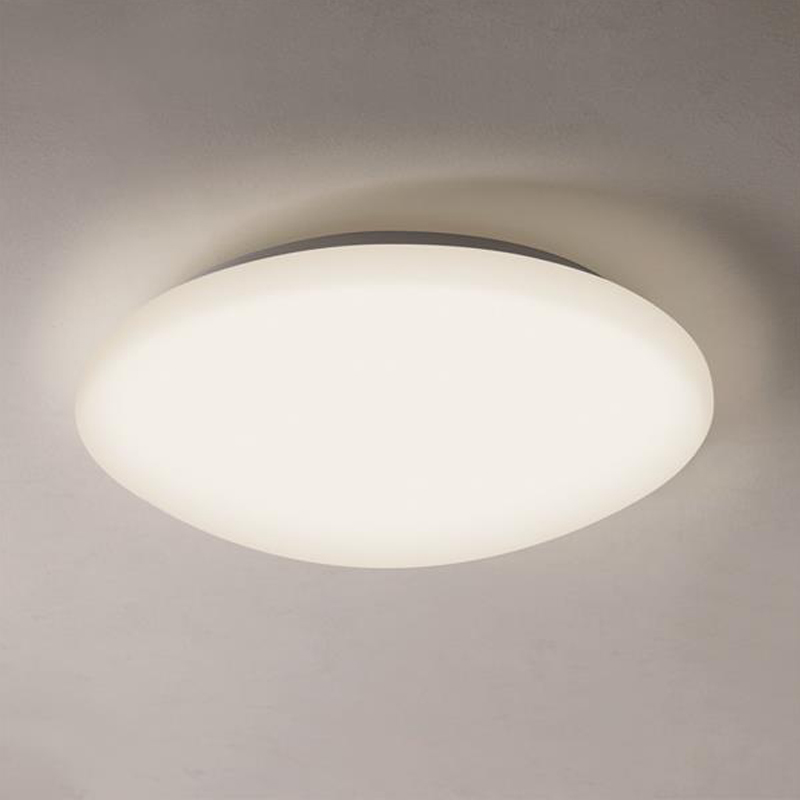 Astro massa 350 ip44 led bathroom flush ceiling light white 7394