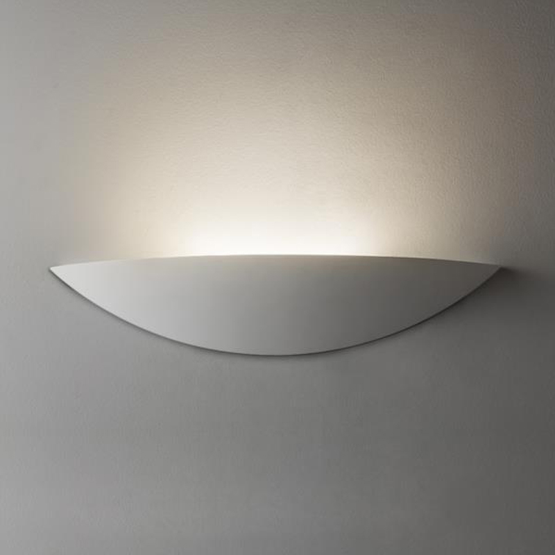 Astro 'Slice LED' IP20 Wall Light, White Finish - 7399