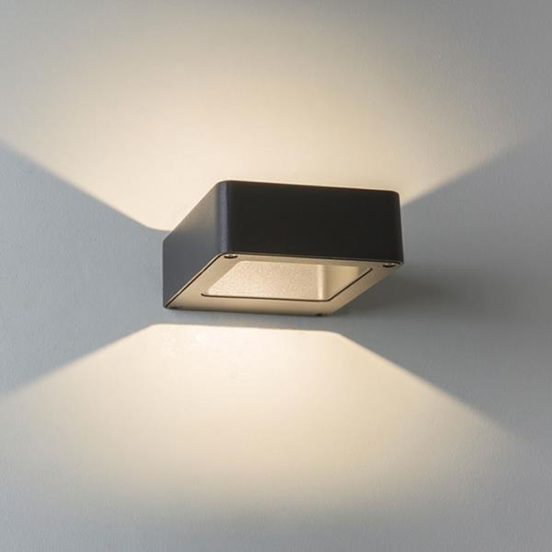 Astro Napier Wall Ip54 Led Outdoor Wall Up Down Light Black