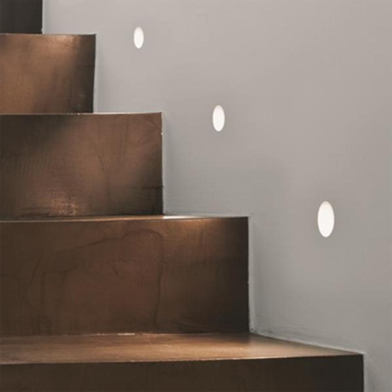 interior step lighting. astro u0027leros trimlessu0027 led ip20 trimless wall light plasteredin finish interior step lighting o