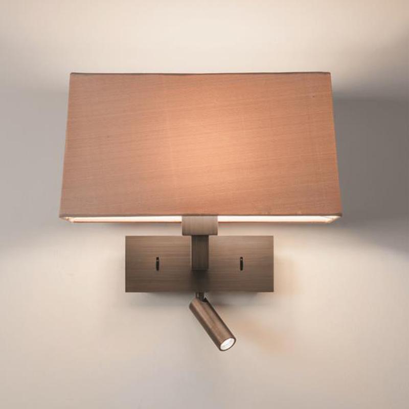 wall lighting bedroom. Astro \u0027Park Lane Reader\u0027 IP20 Led Interior Wall Light, Bronze - 7469 Lighting Bedroom