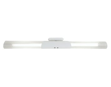 Oaks Lighting Long Fluorescent Ceiling Light, White Finish - 747/36/2 WH