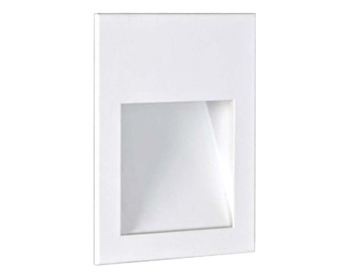 Astro Borgo 54 LED Recessed Wall Light, Textured White Finish - 7484
