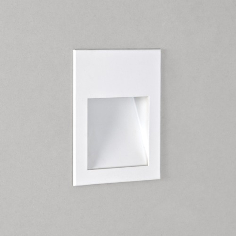 Recessed wall lights from easy lighting astro borgo 54 led ip65 2700k recessed wall light white finish 7545 aloadofball Choice Image