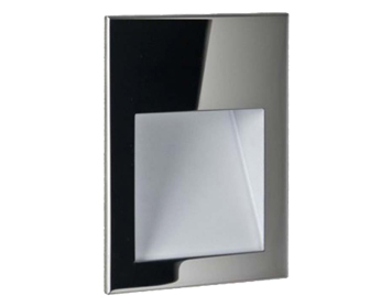 Astro Borgo 54 LED Recessed Wall Light, Polished Stainless Steel Finish - 7485