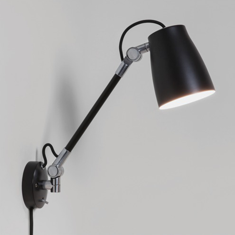 Wall mounted reading lights from easy lighting astro atelier grande wall light ip20 black 7505 mozeypictures Gallery