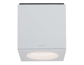 Astro Kos LED Square Bathroom Downlight, Matt White Finish - 7511