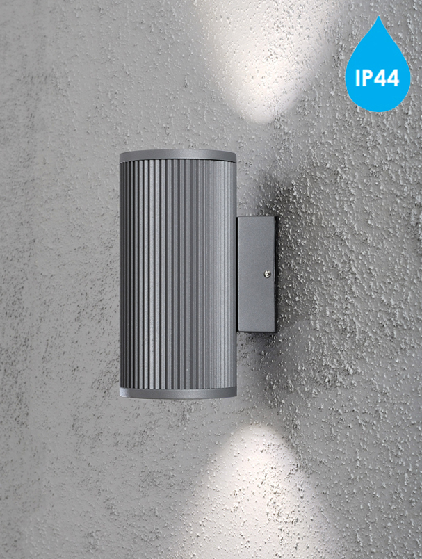 Konstsmide Siracusa Ip44 205mm 2 Light Outdoor Up