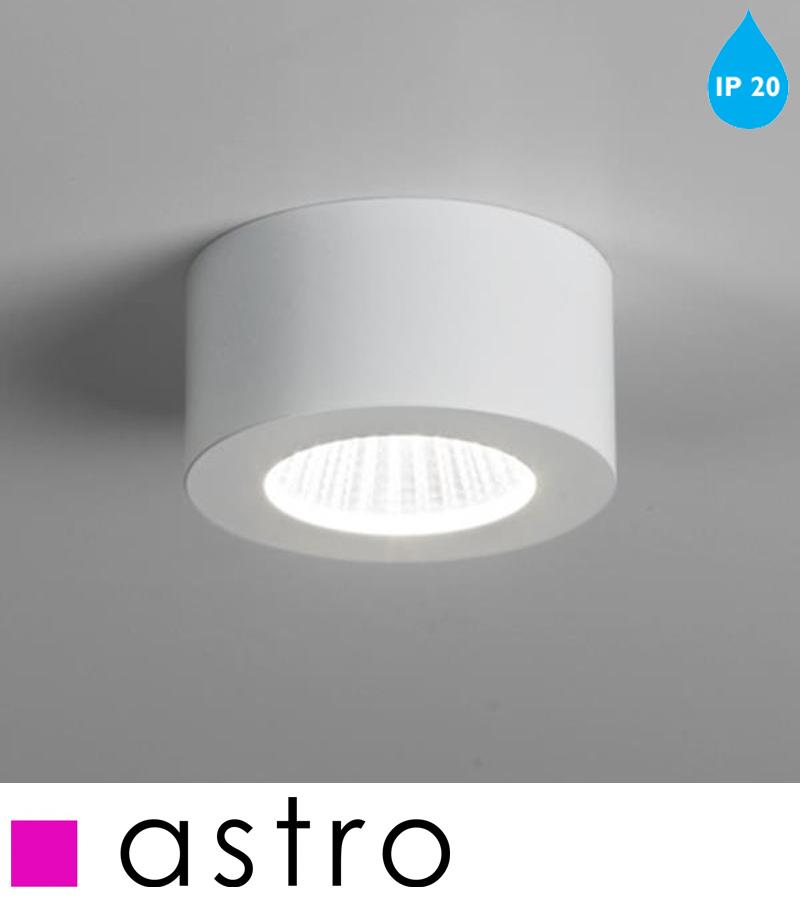 Astro Samos Round LED IP20 2700k Interior Wall Light, White - 7539 from Easy Lighting