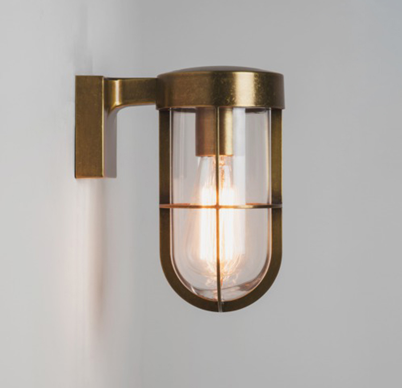 Astro cabin ip44 outdoor wall light antique brass 7559 from astro cabin ip44 outdoor wall light antique brass 7559 none aloadofball Images