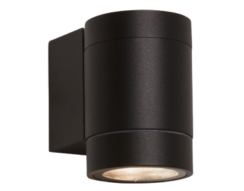 Astro Dartmouth Single LED Outdoor Wall Light, Textured Black Finish - 7583