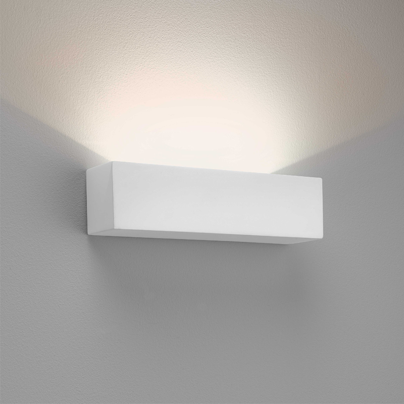 Astro Parma 250 LED 2700k Wall Light, White Finish - 7599