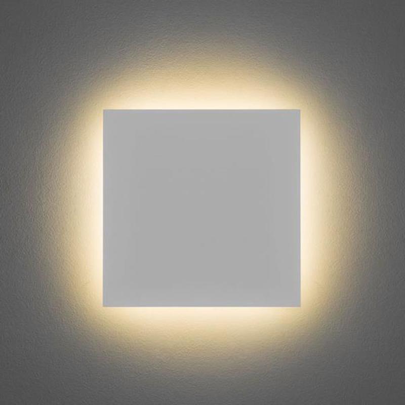 Astro eclipse round 250 ip20 2700k led wall light white finish astro eclipse square 300 ip20 2700k led wall light white finish 7610 aloadofball Images
