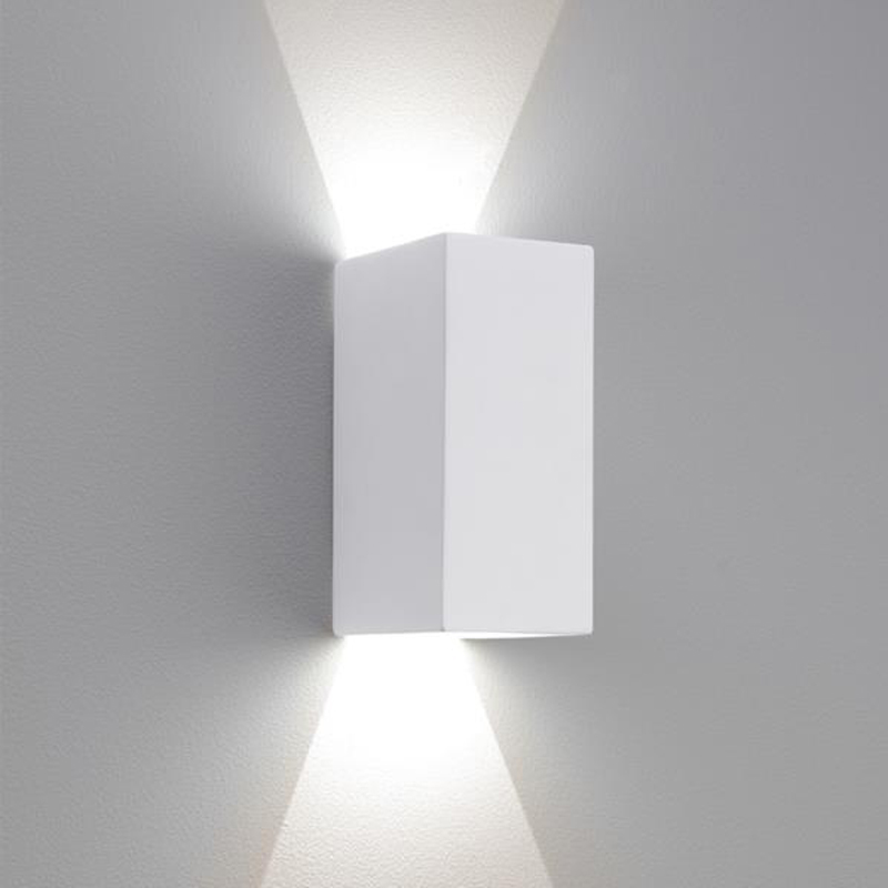 Astro Parma 210 LED 2700k Wall Light, White Finish - 7612