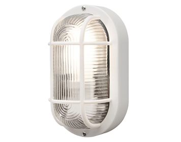 White Outdoor Wall Lights From Easy Lighting