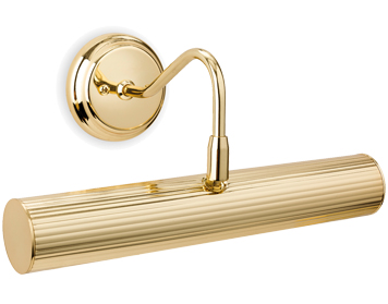 Firstlight 2 Light Picture Light, Polished Brass Finish - 7651BR