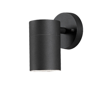 Konstsmide Modena 1 Light Adjustable Outdoor Wall Light, Matt Black - 7657-750