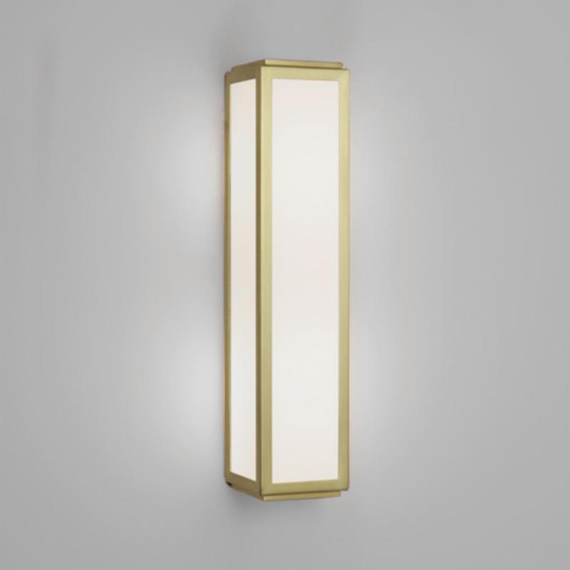 brass bathroom light. Astro \u0027Mashiko Classic 360\u0027 IP44 Bathroom Wall Light, Matt Gold - 7801 Brass Light L