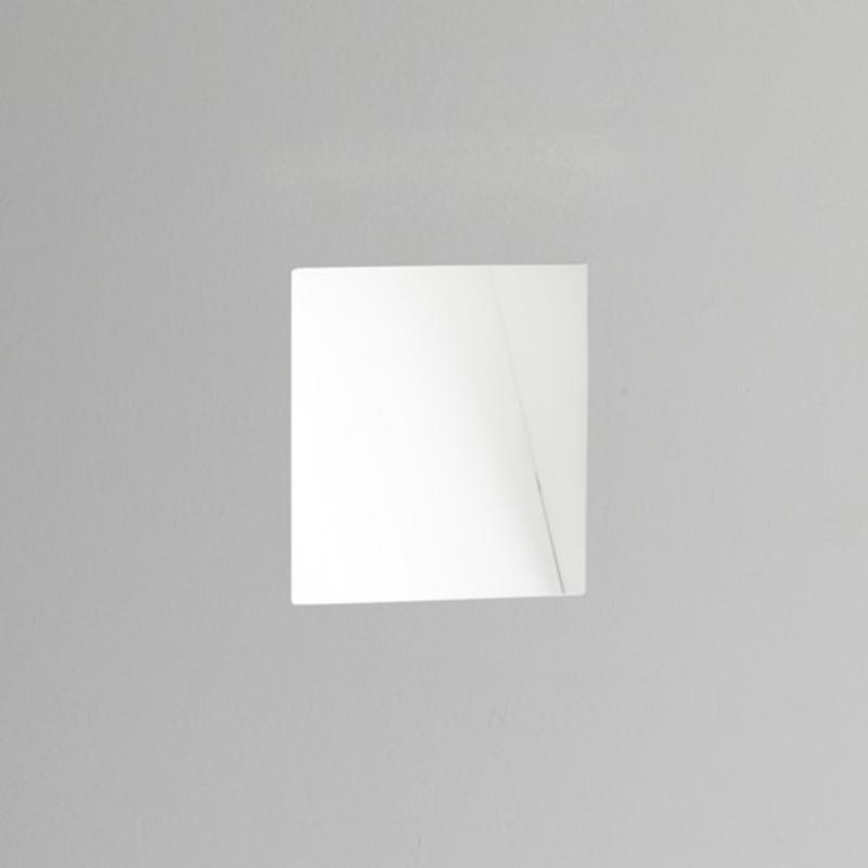 Astro Borgo Trimless 98 LED 3000k Recessed Wall Light, White Finish - 7841