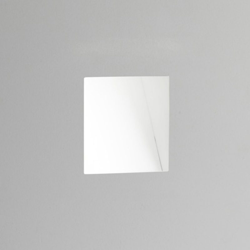 Astro Borgo Trimless 98 LED 3000k Recessed Wall Light, White Finish - 7842