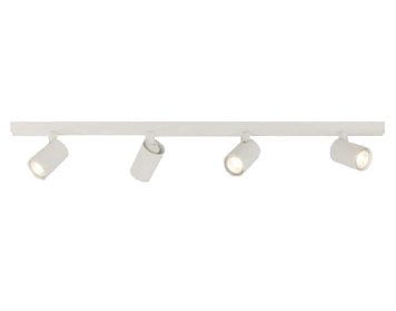 Astro Ascoli Four Bar Spotlight, Textured White Finish - 7843