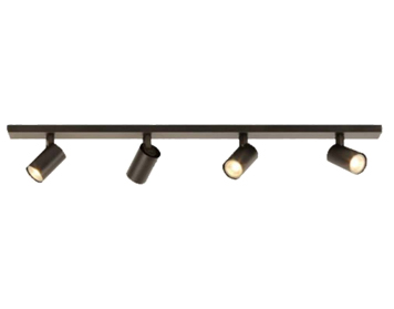 Astro Ascoli Four Bar Spotlight, Bronze Finish - 7844
