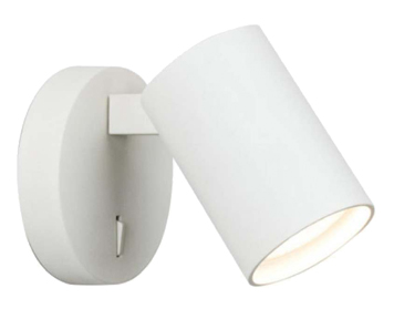 Astro Ascoli Single Switched Spotlight, Textured White Finish - 7940