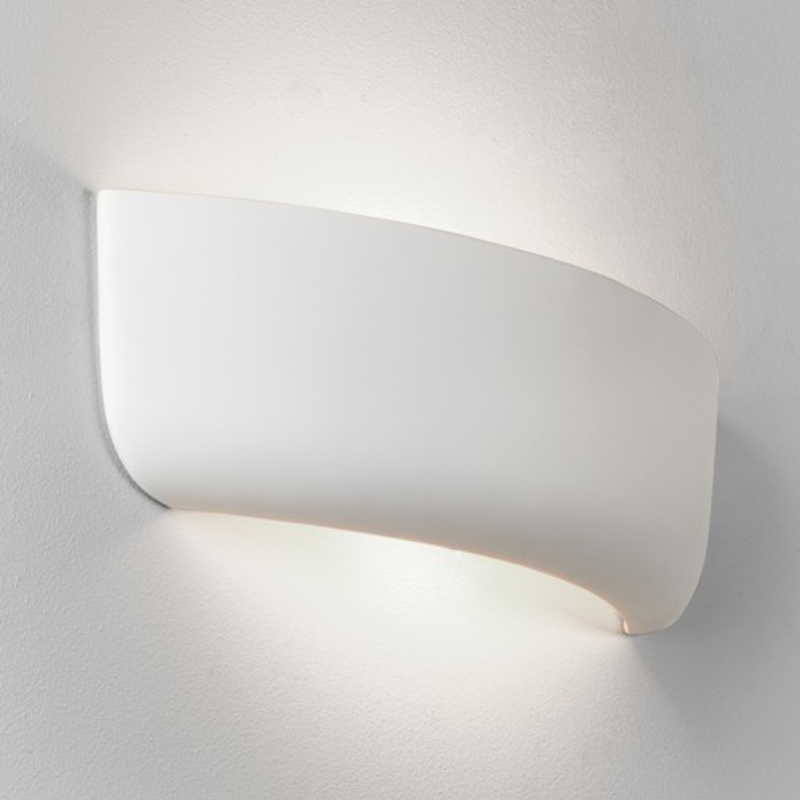 98a0a3135106 Paintable Unglazed Ceramic And Plaster Wall lights from Easy Lighting