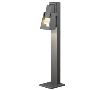 Konstsmide Potenza Ip54 Gu 10 Outdoor Post Light Grey Finish 7980