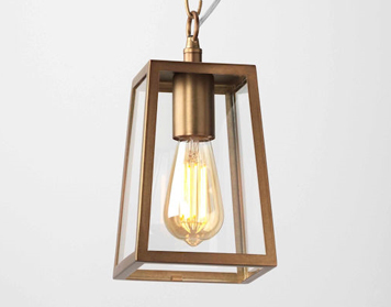 Astro Calvi 215 Ceiling Pendant Light, Antique Brass Finish - 7985