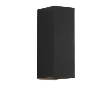 Astro Oslo 255 Up & Down Wall Light, Textured Black Finish - 7989